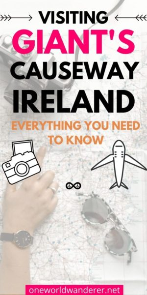 Your ultimate, all inclusive Guide to Giant's Causeway Ireland starts here! There are a lot of articles out there about the popular Northern Ireland travel hotspot- but this one answers all the questions you'll have when planning your holiday! #ireland #northernireland #giantscauseway
