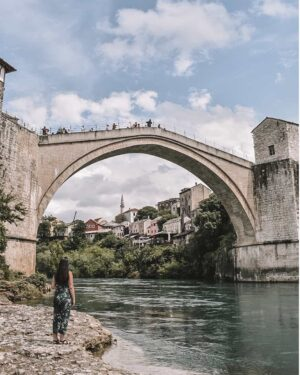 All you need is one day to fall in love with Bosnia and Herzegovina. Be welcomed by the locals and discover the historic charm of Mostar and Sarajevo. Here's why you should visit stunning Bosnia and Herzegovina. | #mostar #bosniaandherzegovina #balkantour #balkans