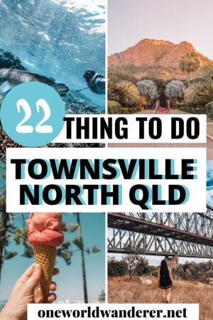 The top things to do in Townsville North Queensland Australia. All the hidden gems from museums, snorkelling the Great Barrier Reef, the North Queensland rainforest and waterfalls and beaches and all the advice from a local!! #australia #northqueensland #traveltownsville