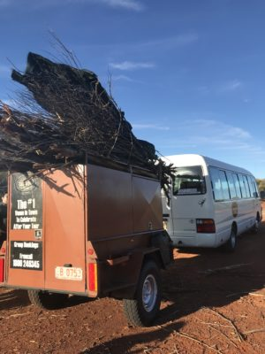 Free Camping in Central Australia