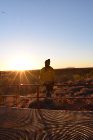 Sunrise at Uluru, Australia