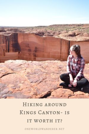 Hiking Kings Canyon, located in the heart of Australia nearby the famous Uluru and Kata Tjuta, is an absolute must on a camping trip, or vacation to outback Australia. The canyon boasts stunning desert scenery and views, with some of the most incredible hikes and sights you'll ever find. Travellers can see the awe-inspiring sandstone walls of the canyon, especially while doing the Canyon Rim hike. Follow for my complete guide and travel tips! #kingscanyon #travelaustralia #outbackaustralia