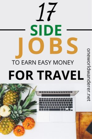 Want to make money from home so you can travel more? Here are 17 legit ways to make extra cash when you urgently need money, when you want to transition to online work, entrepreneurship, or when you want to travel more! These are things I do to make $100 every day, and be able to travel the world! Learn more about how to create a side hustle job without having to have a real job. Earn extra income at home every day. #makemoneyonline #makemoney #makemoneyfromhome #travelmore