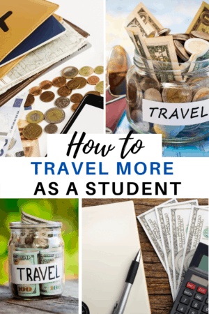 Travelling on a budget isn't easy, especially when you're a broke college or university student. Budget travel can be hard, as can earning money and travelling lots while you are a student, studying, and lacking money. Here are some budget travel tips that any student can use! #budgettravel #travelcheap