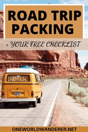 Your 40+ road trip must have items, road trip essentials, and packing items you need when going on a road trip! These travel hacks are going to help you in planning and preparing for your road trip so you are comfortable and can enjoy the scenery! These items are perfect for the vanlife, camping, RV, backpacking, car travellers. #roadtrip #roadtrippacking #packingessentials